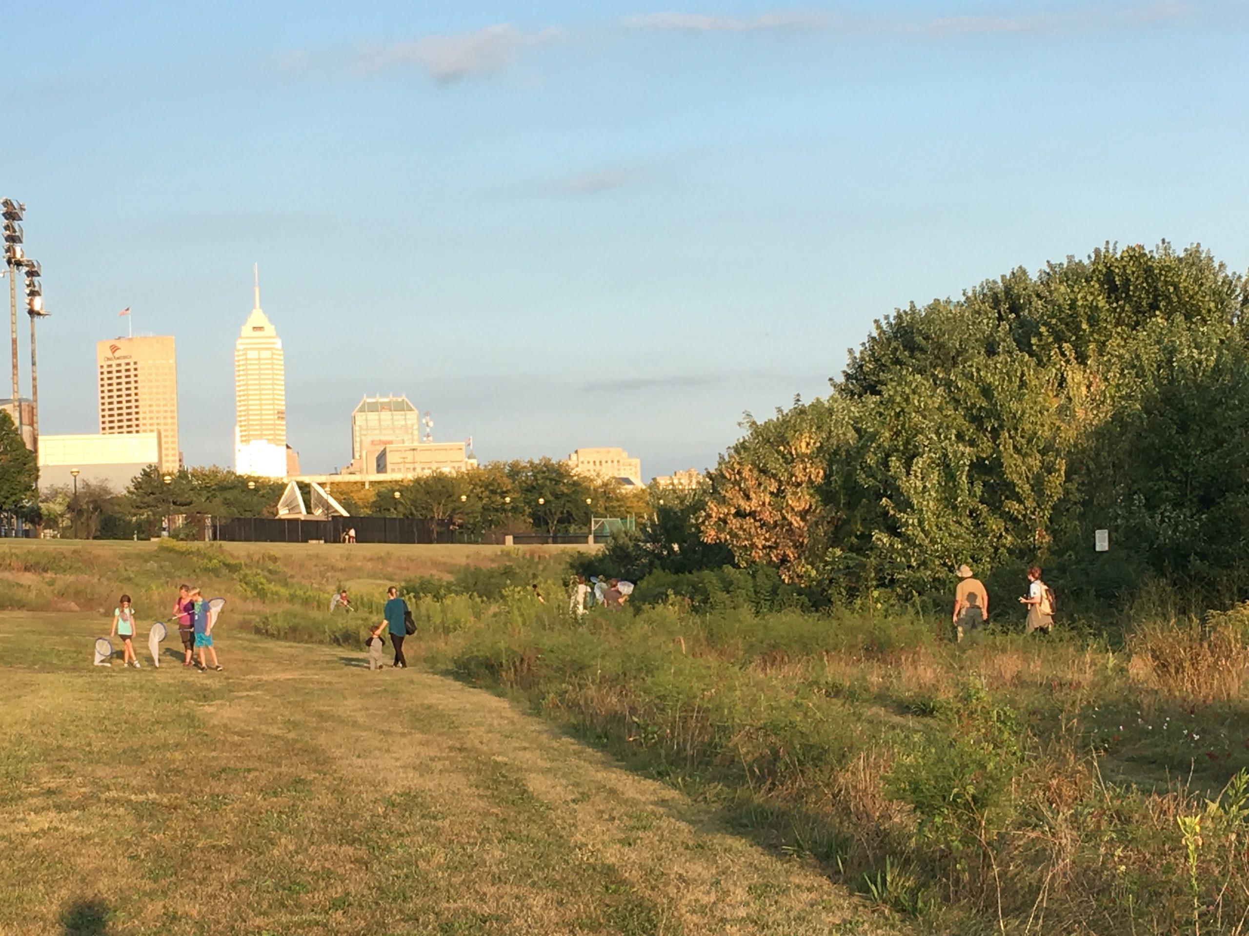 Skyline of Indianapolis, Indiana
