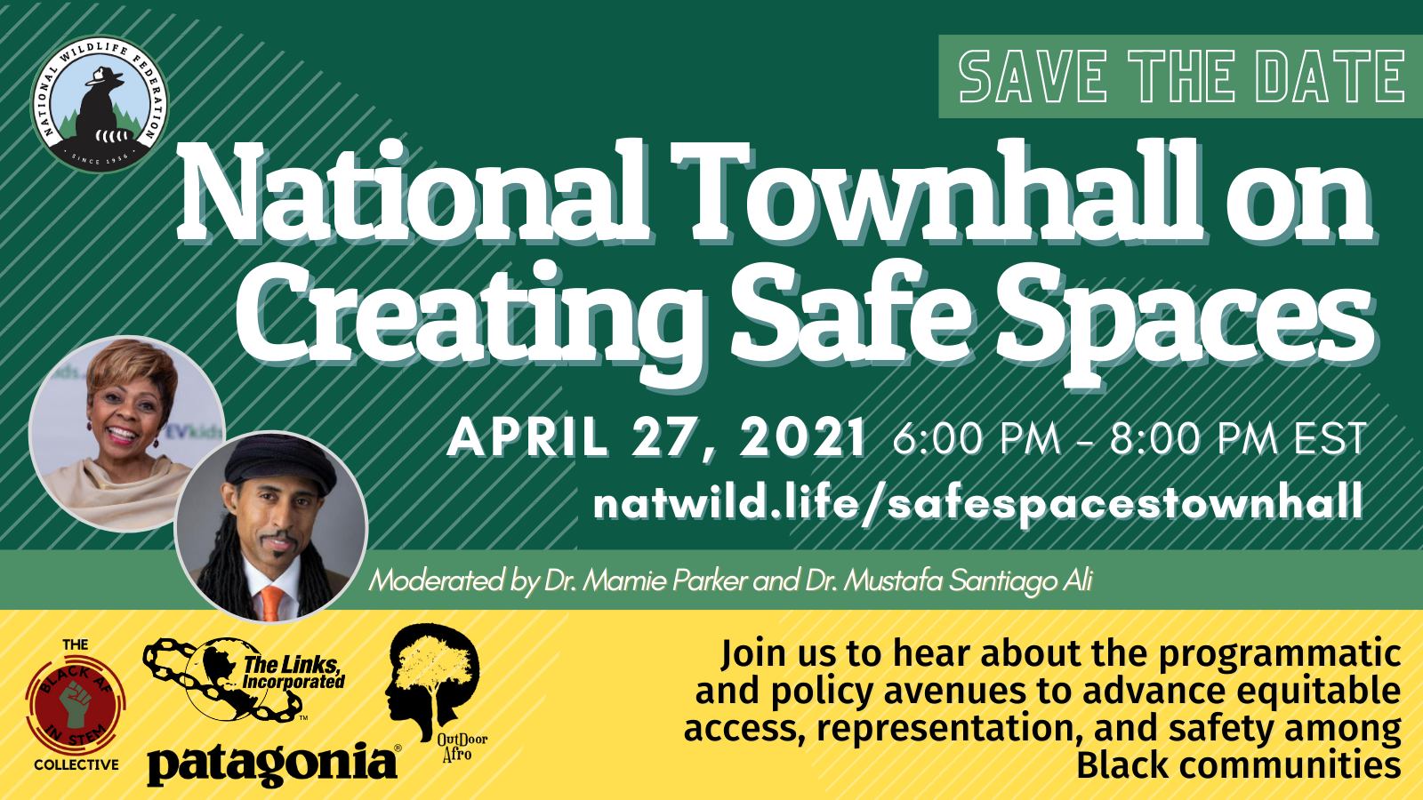 National Wildlife Federation: National Townhall on Creating Safe Spaces
