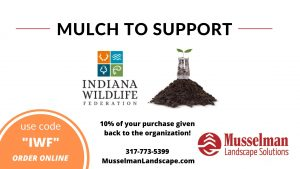 mulch to support indiana wildlife federation